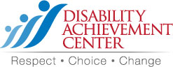 This image has an empty alt attribute; its file name is DisabilityAchievementCenter_Color.jpg