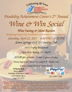 Disability Achievement Center 2nd Annual Win and Win Social